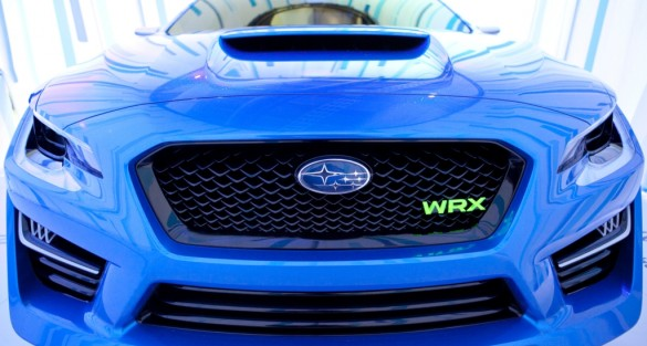 The All-New Subaru WRX Concept Debuts at the 2013 New York International Auto Show