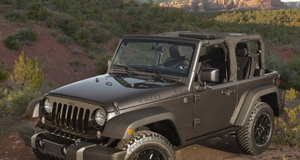 New 2014 Jeep Wrangler Willys Wheeler Edition: A Classic Throwback With Modern Capability