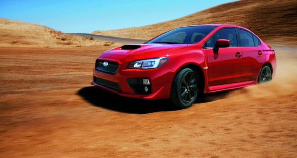 2015 Subaru WRX Makes World Debut At Los Angeles Auto Show