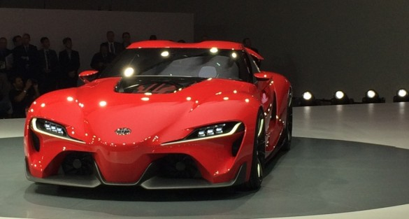 Toyota FT-1 Concept Sets the Pace for Future Design