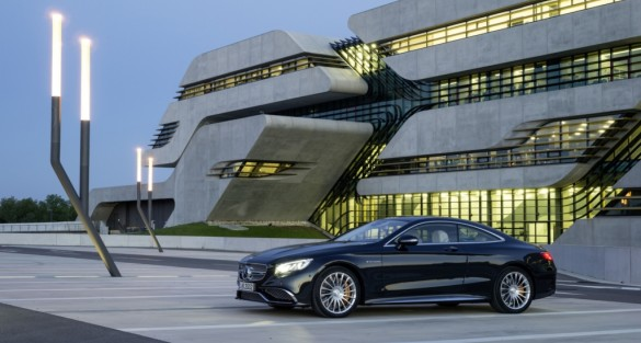 The new S 65 AMG Coupe