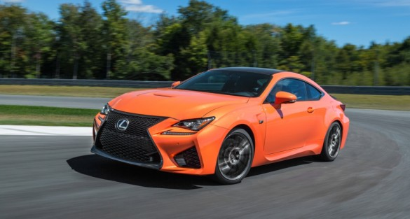 2015 LEXUS RC F  High Performance Luxury Sports Coupe