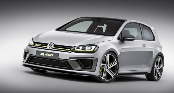 Volkswagen Golf R 400 Concept Makes North American Debut at Los Angeles Auto Show