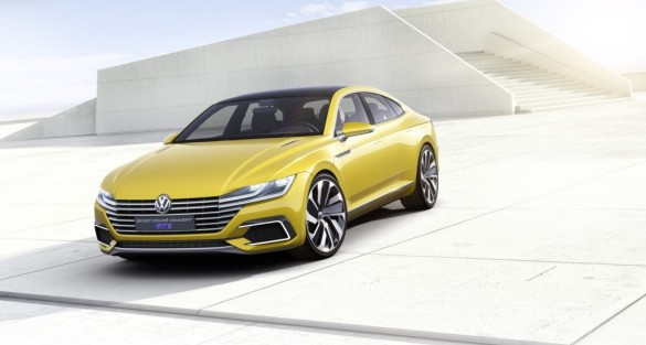 Volkswagen Sport Coupe GTE Concept Makes World Debut
