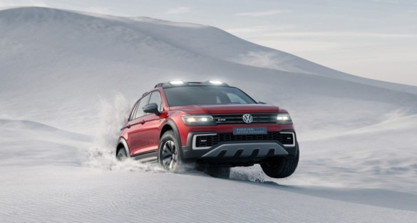 Volkswagen Tiguan GTE Active Concept Makes World Debut at NAIAS