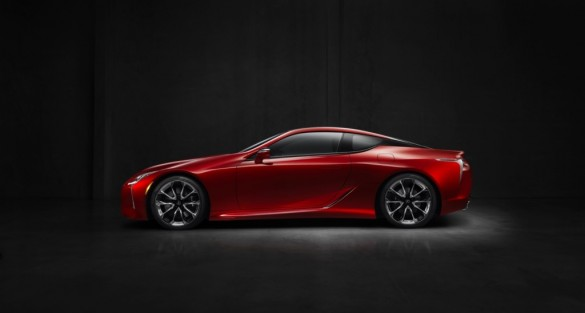 Global Debut of the All-New 2017 Lexus LC 500 at the 2016 NAIAS