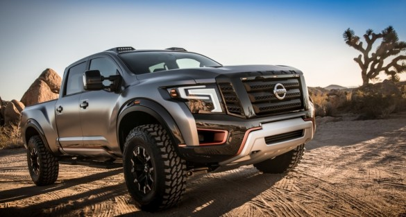 Nissan TITAN Warrior Concept featured at 2016 NAIAS