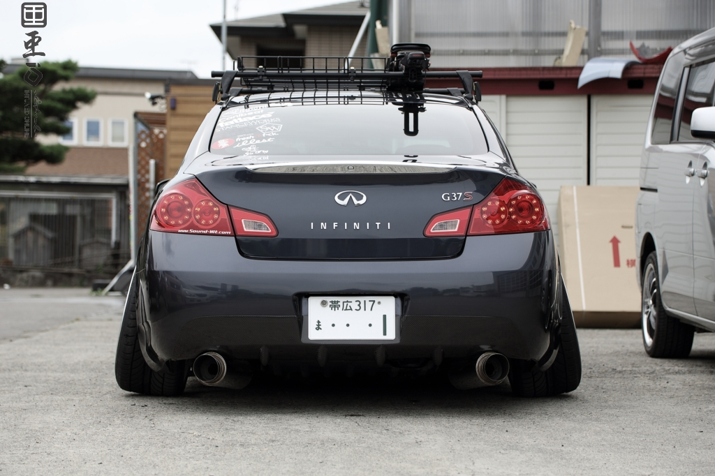 Ski Rack For Car >> USDM Nissan Skyline G37SIntuned Online