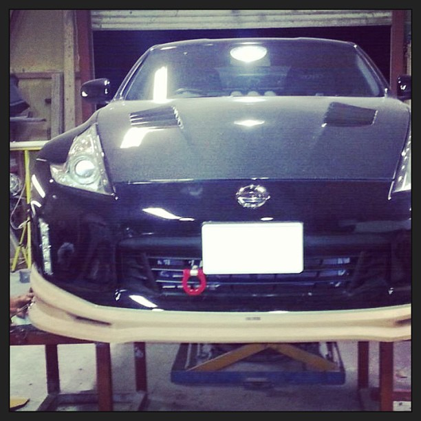2013 Nissan 370z Lip Varis